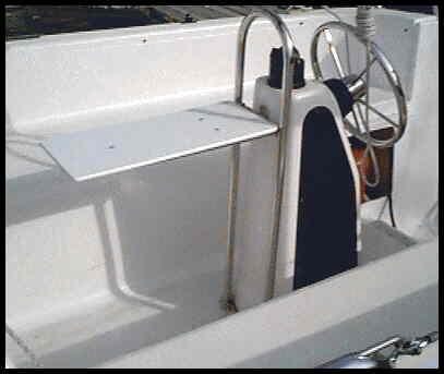 Super Sport Marine's MacGregor Pedestal Guard Handrail